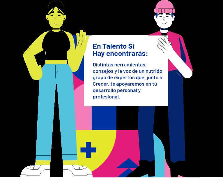 Ilustración con información de Talento Sí Hay