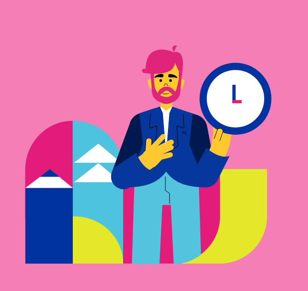 Ilustración Tiempo con Tus Finanzas